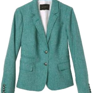 Banana Republic teal Blazer