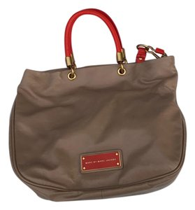 Marc Jacobs Tote in nude and orange