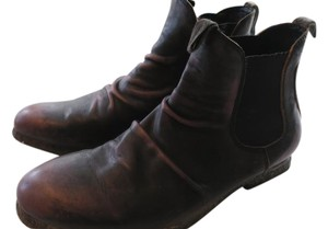 Bed|Stü Funky Urban Hipster Vintage Distressed Brown Boots