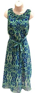 JBS Limited short dress green and blue on Tradesy