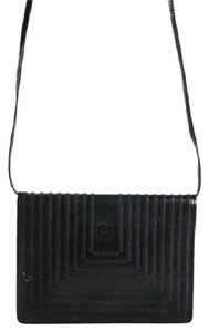 Fendi Mint Vintage Dressy Casual Clutch/Cross Lagerfield Influence Asian/Deco Look Cross Body Bag
