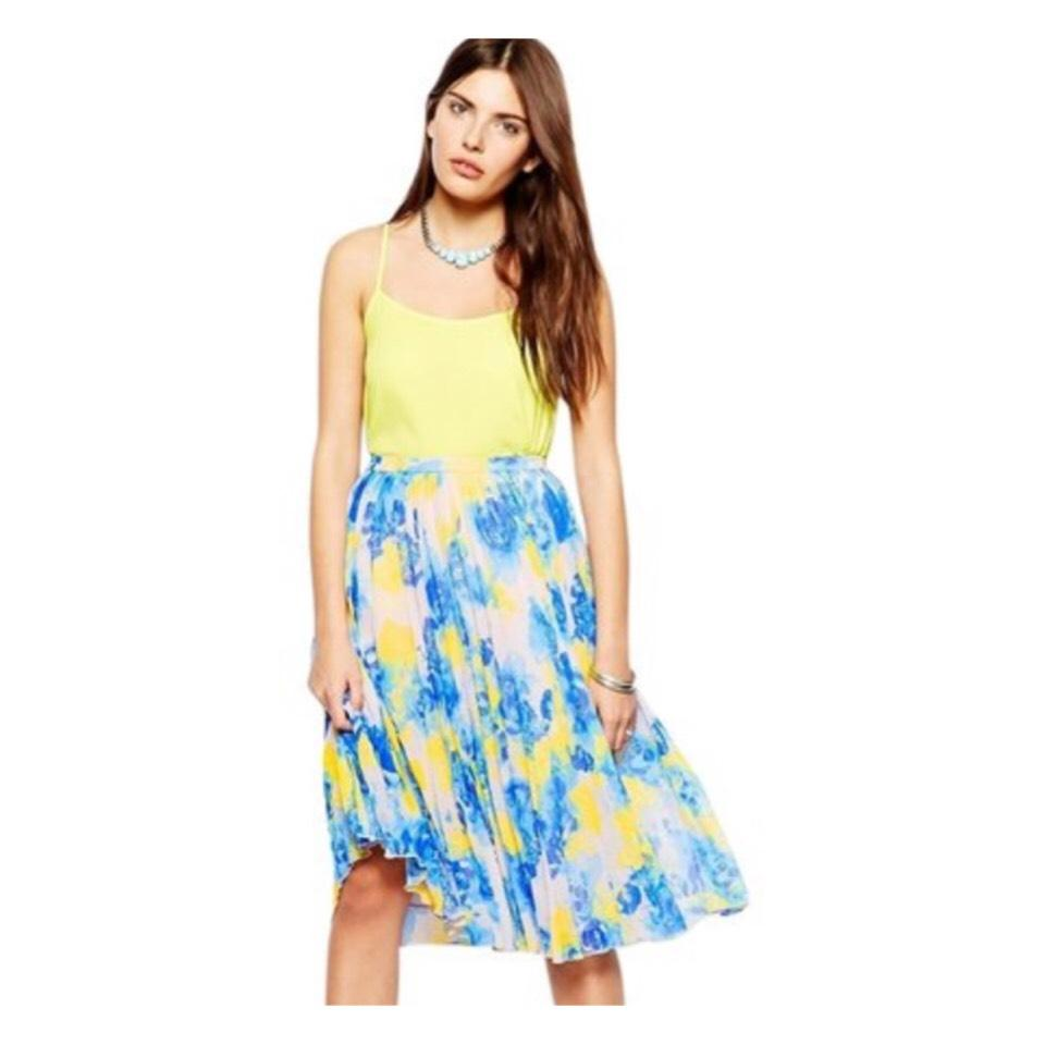 the best various design official photos Floral Pleated Skirt