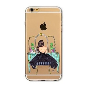 "Tory's Timeless Treasures ""Looking Beautiful"" silicone iPhone Case 6+/6s+"