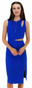 Sugarlips short dress Cobalt Carefree Cut Out on Tradesy