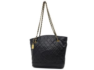 Chanel Chain Tote Quilted Tote Shopper Gst Neverfull Shoulder Bag
