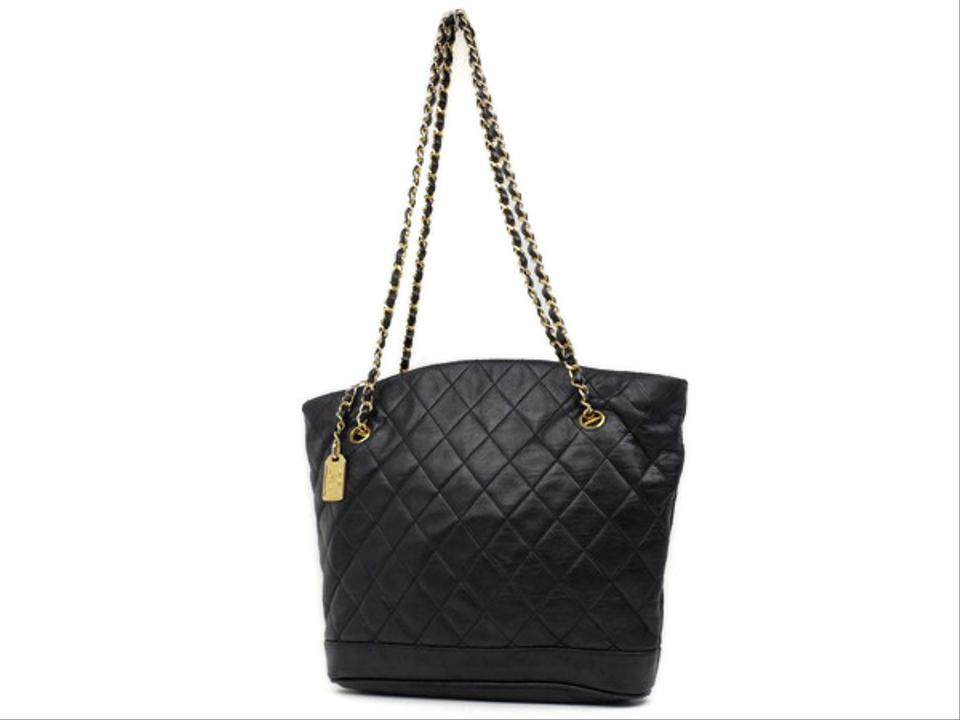 8bda4c072ac6 Chanel Chain Tote Quilted Tote Shopper Gst Neverfull Shoulder Bag Image 0  ...