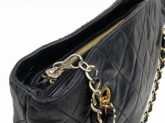 Chanel Chain Tote Quilted Tote Shopper Gst Neverfull Shoulder Bag Image 4