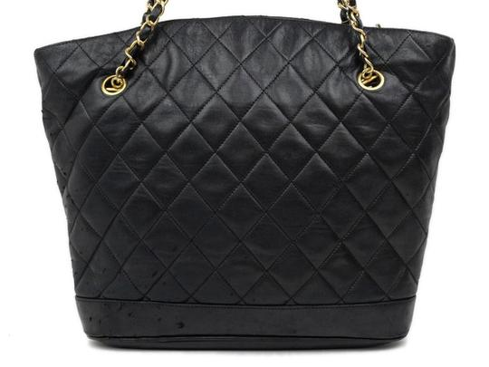Chanel Chain Tote Quilted Tote Shopper Gst Neverfull Shoulder Bag Image 5