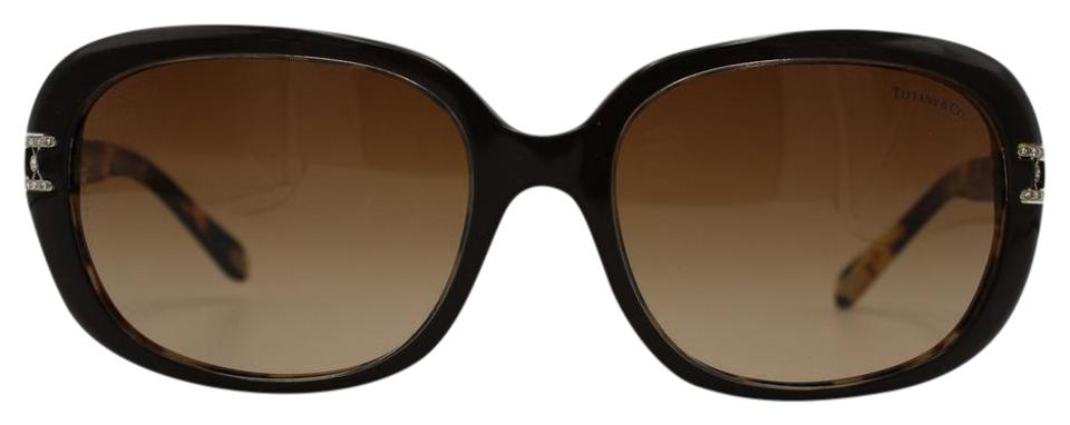 7c875731133 Tiffany   Co. Tortoise Brown Classic with Crystal Details 4008b 8023 3b  Sunglasses