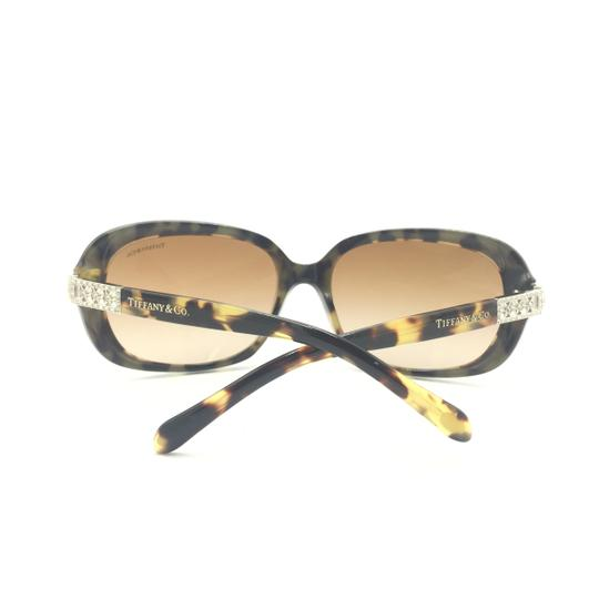 Tiffany & Co. Classic Tortoise Brown With Crystal Details Sunlgasses 4008B 8023/3B Image 6