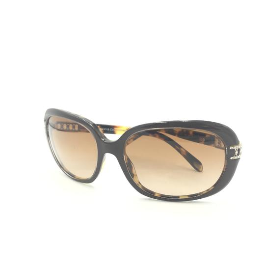 Tiffany & Co. Classic Tortoise Brown With Crystal Details Sunlgasses 4008B 8023/3B Image 7
