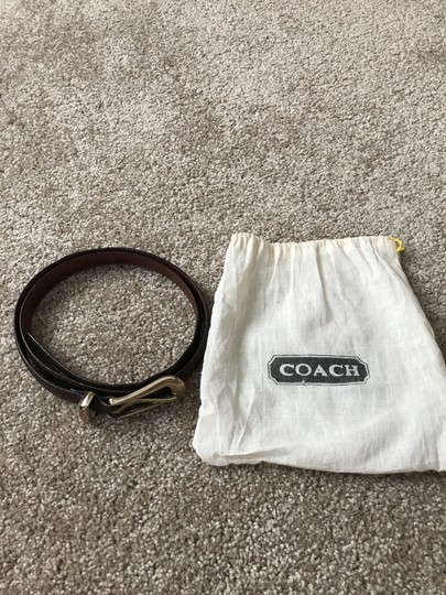 Coach #2 Vintage Brown Leather Large Image 7