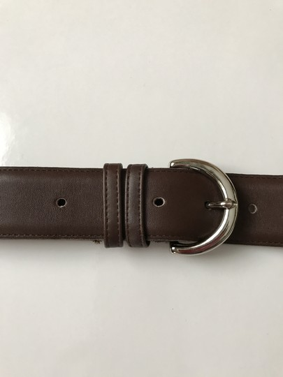 Coach #3 Vintage Wide Brown Leather Large Image 1