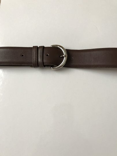 Coach #3 Vintage Wide Brown Leather Large Image 2
