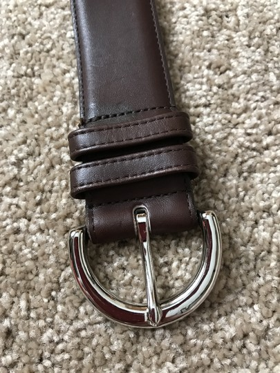 Coach #3 Vintage Wide Brown Leather Large Image 3