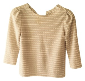 Frenchi Top Tan/white