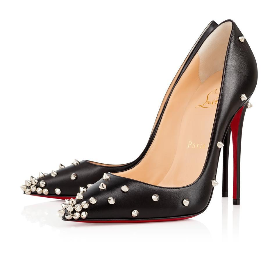 b865d585530 Christian Louboutin Stiletto Spike Degraspike Spike Heels Black Pumps Image  11. 123456789101112