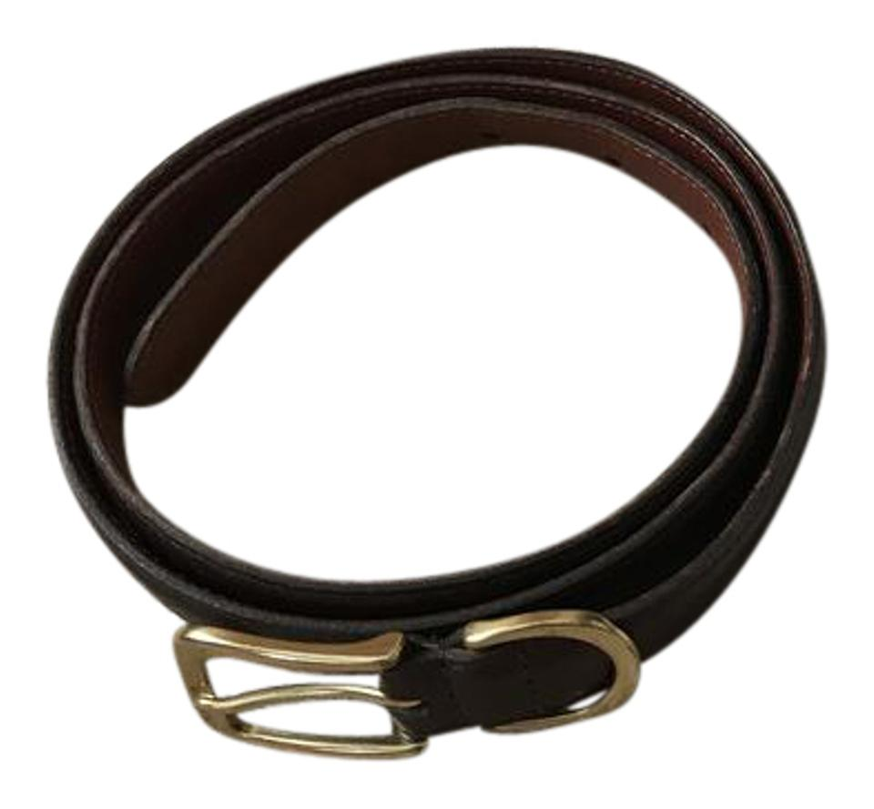 be3600be3004 Coach Brown  8 Vintage Leather Large Belt - Tradesy