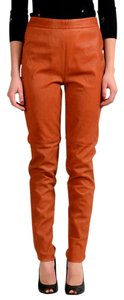 Maison Margiela Skinny Pants Rust Orange