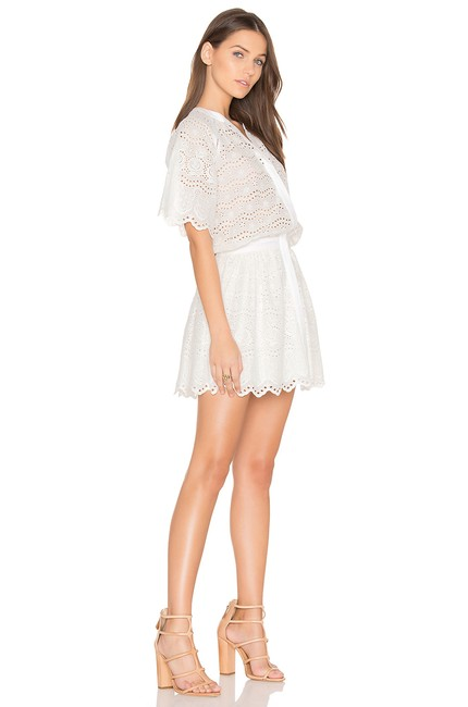 LoveShackFancy short dress White Zimmermann Rachel Zoe Doen Rouje Reformation on Tradesy Image 1