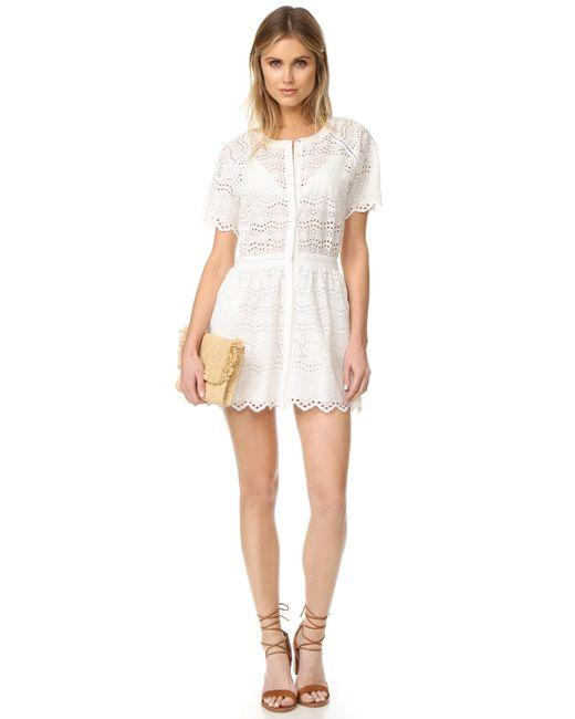 LoveShackFancy short dress White Zimmermann Rachel Zoe Doen Rouje Reformation on Tradesy Image 3