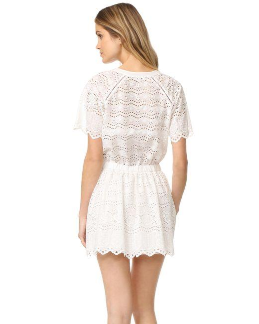 LoveShackFancy short dress White Zimmermann Rachel Zoe Doen Rouje Reformation on Tradesy Image 6