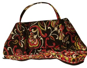 Vera Bradley Tote in Brown with pattern