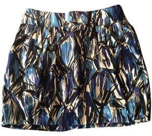 Miss Sixty Skirt Blue And Black
