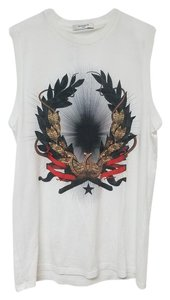 Givenchy Printed Xs Top White