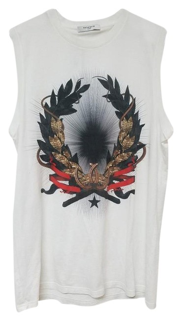 Givenchy Printed Xs Top White Image 0