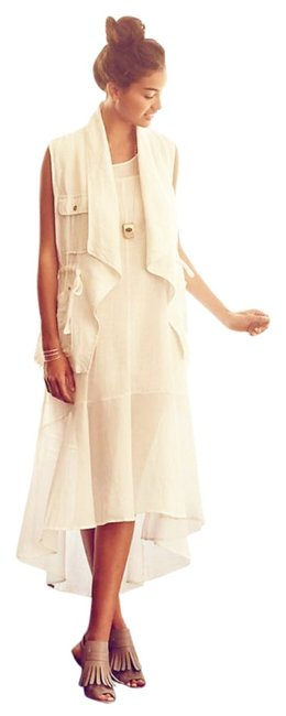 White Maxi Dress by Anthropologie Breezy Maxi High Low Maxi Maxi Summer Maxi Cool Comfy Maxi Image 6