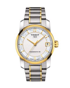 d63de5c63151 Tissot T-Classic Automatic Mother of Pearl Dial Two-tone Ladies Watch