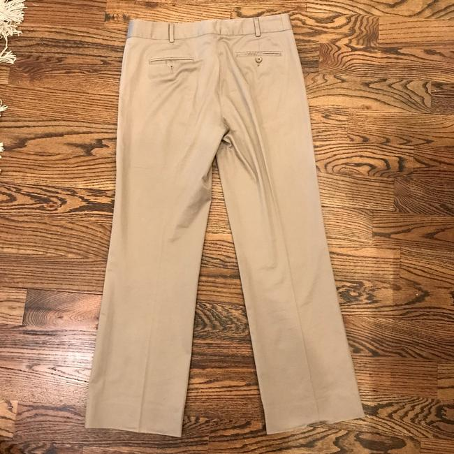 BCBGMAXAZRIA Trousers Work Taupe Cream Brown Pants Image 1