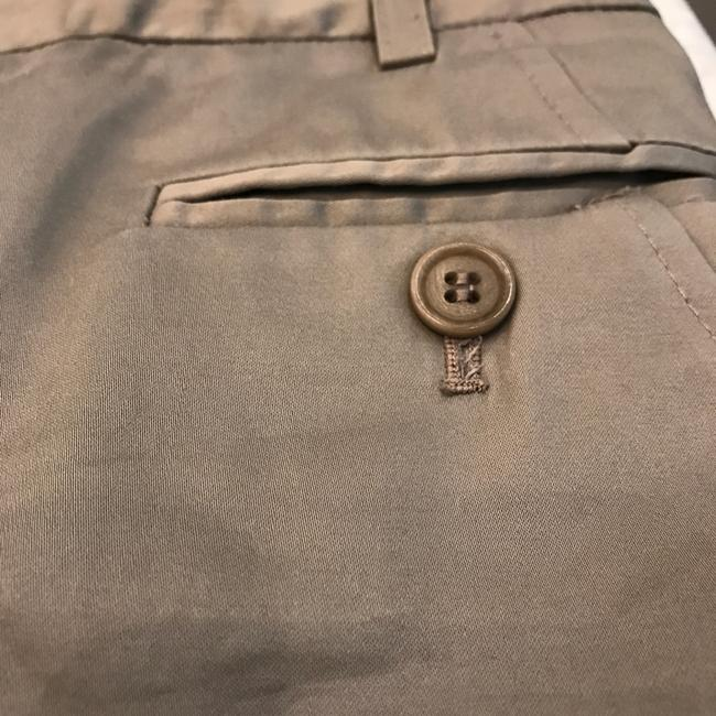 BCBGMAXAZRIA Trousers Work Taupe Cream Brown Pants Image 3
