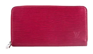 Louis Vuitton * Louis Vuitton Zippy Wallet Fuschia Epi Leather