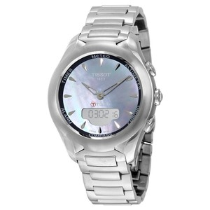 Tissot T-Touch Solar Lady Mother of Pearl Dial Stainless Steel Ladies Watch T