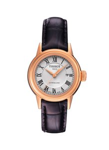 Tissot Carson Automatic Silver Dial Ladies Watch