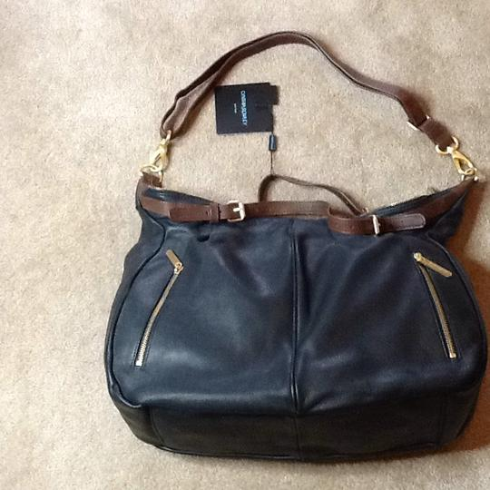 Cynthia Rowley Satchel in black and brown