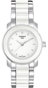 Tissot T-Trend White Ceramic Ladies Watch T0642102201100