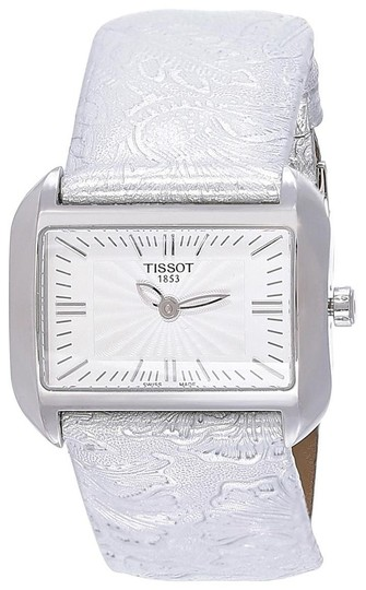 Preload https://img-static.tradesy.com/item/21912518/tissot-t-wave-white-dial-silver-leather-ladies-t0233091603102-watch-0-0-540-540.jpg