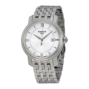Tissot Bridgeport Silver Dial Stainless Steel Band Men's Watch