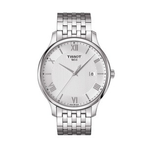 Tissot Tradition Silver Dial Stainless Steel Men's Watch