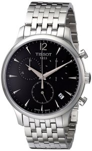 Tissot Tradition Chronograph Charcoal Dial Men's Watch