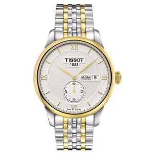 Tissot Le Locle Automatic White Dial Two-tone Men's Watch