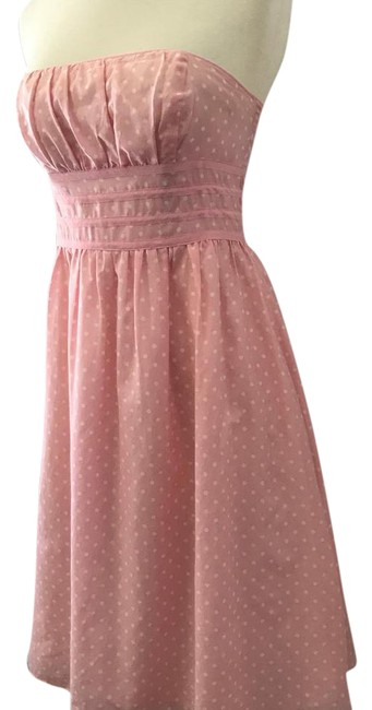 Preload https://img-static.tradesy.com/item/21912571/lilly-pulitzer-pink-and-white-strapless-polka-dot-silk-cotton-party-short-formal-dress-size-2-xs-0-1-650-650.jpg