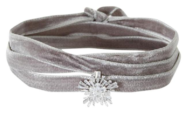Fallon Grey Monarch Velvet Starburst Wrap Choker Necklace Fallon Grey Monarch Velvet Starburst Wrap Choker Necklace Image 1