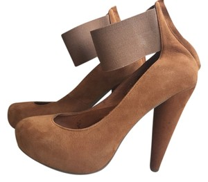 Jeffrey Campbell Deep Tan Pumps