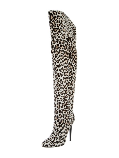 Jimmy Choo Over The Knee LEOPARD Boots