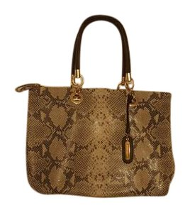 Cynthia Rowley Tote in Brown and Taupe