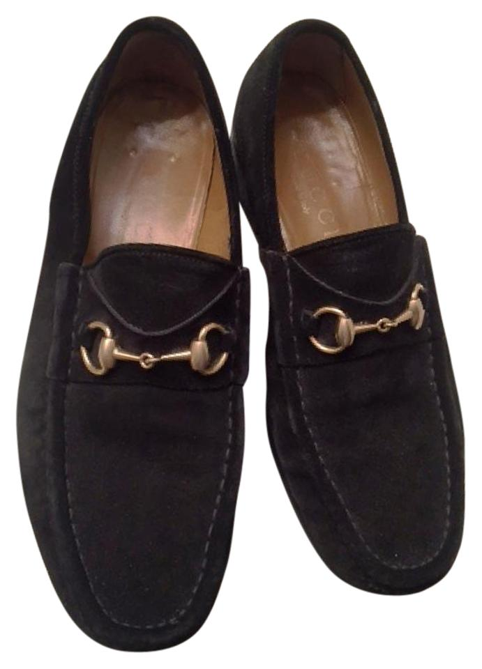 81d4b2698b33 Gucci Black Horsebit Men  39 s Suede Loafers - 10d Flats Size US 10.  Men  39 s New In Shoes ASOS Wide Fit Loafers In Brown Faux Suede
